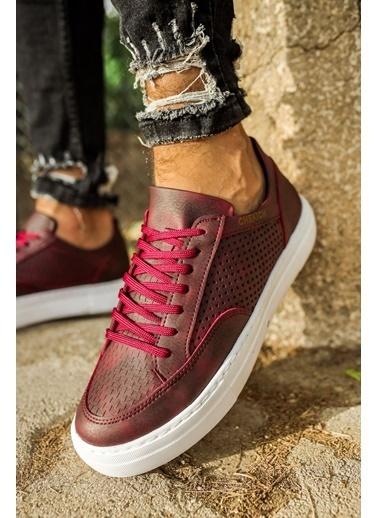 Chekich CH015 BT Erkek Ayakkabı BORDO Bordo